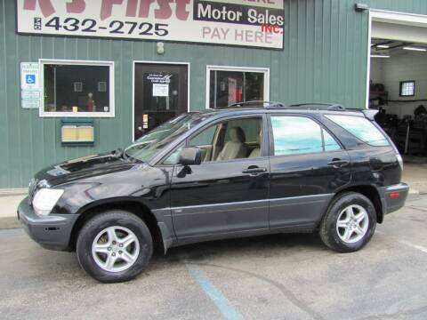 2003 Lexus RX 300 for sale at R's First Motor Sales Inc in Cambridge OH