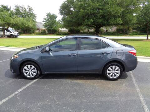 2015 Toyota Corolla for sale at BALKCUM AUTO INC in Wilmington NC