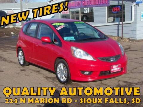 2010 Honda Fit for sale at Quality Automotive in Sioux Falls SD
