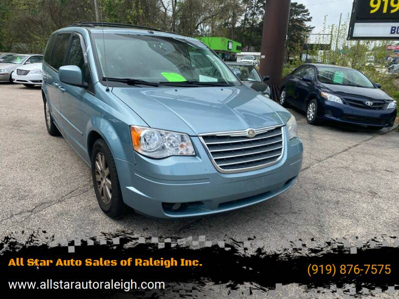 2008 Chrysler Town and Country for sale at All Star Auto Sales of Raleigh Inc. in Raleigh NC