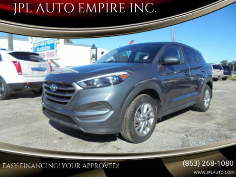2016 Hyundai Tucson for sale at JPL AUTO EMPIRE INC. in Auburndale FL