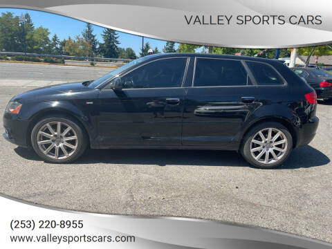 2012 Audi A3 for sale at Valley Sports Cars in Des Moines WA