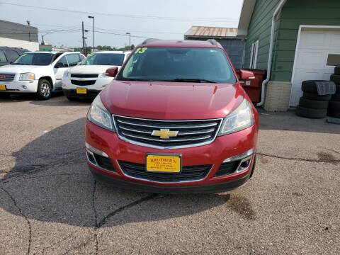 2013 Chevrolet Traverse for sale at Brothers Used Cars Inc in Sioux City IA
