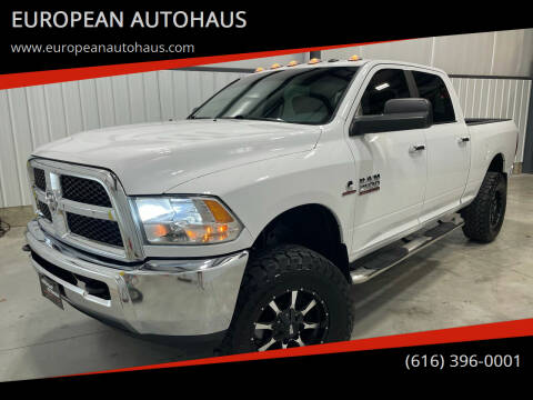 2015 RAM Ram Pickup 2500 for sale at EUROPEAN AUTOHAUS in Holland MI