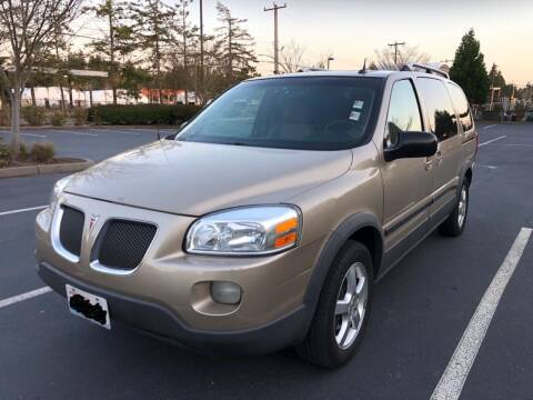 2005 Pontiac Montana SV6 for sale at Car One Motors in Seattle WA