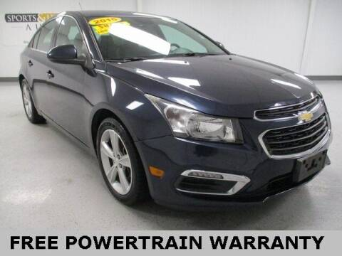 2015 Chevrolet Cruze for sale at Sports & Luxury Auto in Blue Springs MO