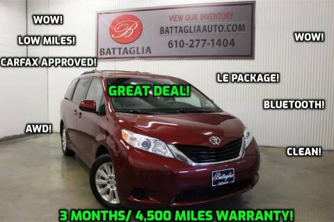 2014 Toyota Sienna for sale at Battaglia Auto Sales in Plymouth Meeting PA