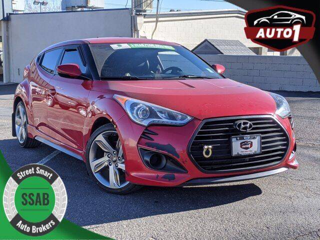 2015 Hyundai Veloster for sale at Street Smart Auto Brokers in Colorado Springs CO