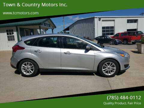 2015 Ford Focus for sale at Town & Country Motors Inc. in Meriden KS
