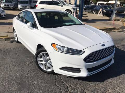 2016 Ford Fusion for sale at Excellence Auto Trade 1 Corp in Brooklyn NY