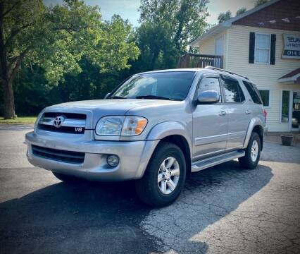 2006 Toyota Sequoia for sale at Unique LA Motor Sales LLC in Byrnes Mill MO