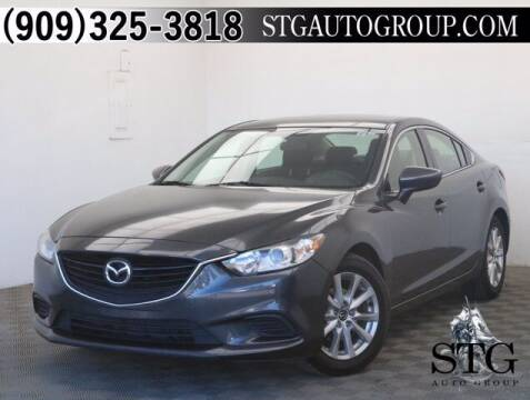 2015 Mazda MAZDA6 for sale at STG Auto Group in Montclair CA