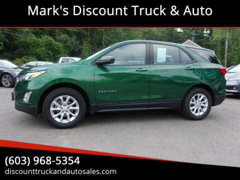 2018 Chevrolet Equinox for sale at Mark's Discount Truck & Auto in Londonderry NH