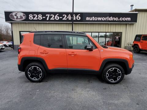 2015 Jeep Renegade for sale at AutoWorld of Lenoir in Lenoir NC