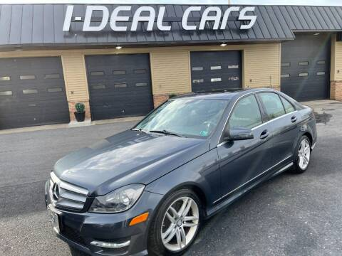 2013 Mercedes-Benz C-Class for sale at I-Deal Cars in Harrisburg PA