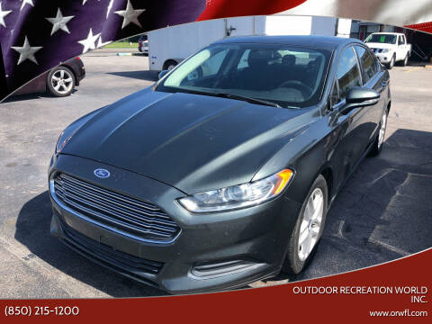 2015 Ford Fusion for sale at Outdoor Recreation World Inc. in Panama City FL