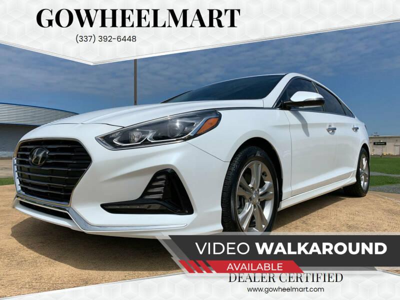 2018 Hyundai Sonata for sale at GOWHEELMART in Leesville LA
