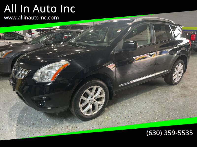 2012 Nissan Rogue for sale at All In Auto Inc in Addison IL