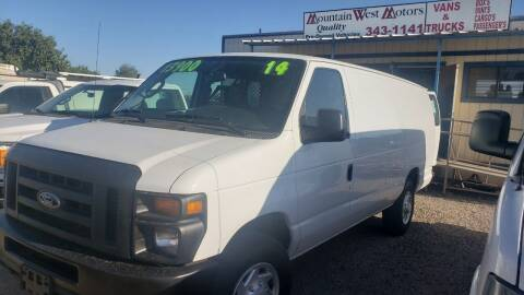 2014 Ford E-350 for sale at MOUNTAIN WEST MOTORS LLC in Albuquerque NM