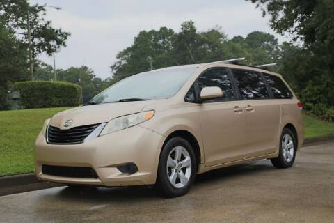 2011 Toyota Sienna for sale at Alpha Auto Solutions in Acworth GA