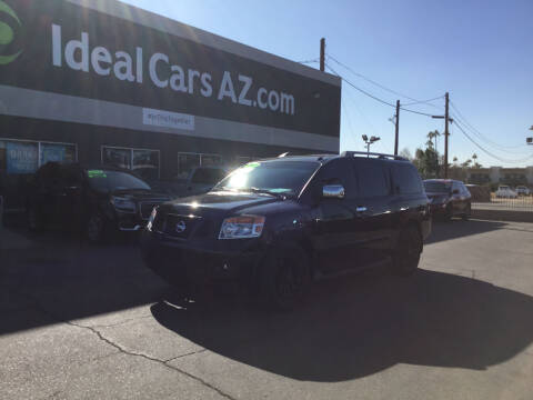 2012 Nissan Armada for sale at Ideal Cars in Mesa AZ