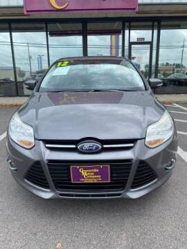 2012 Ford Focus for sale at Greenville Motor Company in Greenville NC