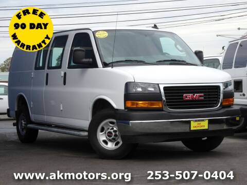 2019 GMC Savana Cargo for sale at AK Motors in Tacoma WA