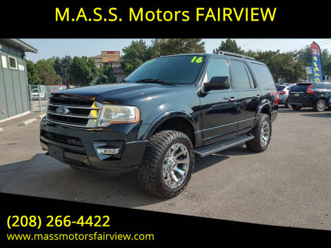 2016 Ford Expedition for sale at M.A.S.S. Motors - Fairview in Boise ID