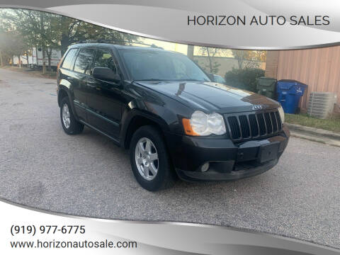 2008 Jeep Grand Cherokee for sale at Horizon Auto Sales in Raleigh NC