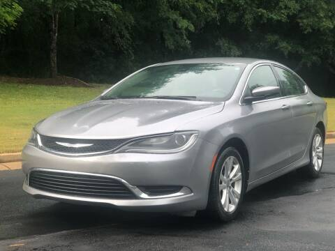 2015 Chrysler 200 for sale at Top Notch Luxury Motors in Decatur GA