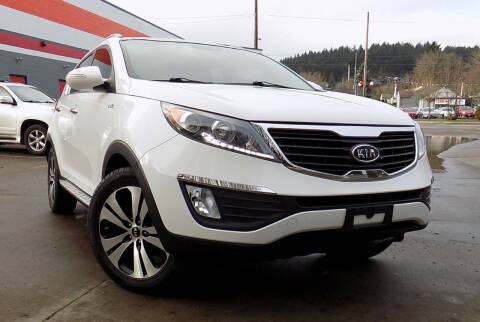 2012 Kia Sportage for sale at A1 Group Inc in Portland OR