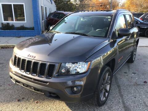 2016 Jeep Compass for sale at One Price Auto in Mount Clemens MI