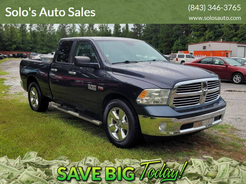 2014 RAM Ram Pickup 1500 for sale at Solo's Auto Sales in Timmonsville SC