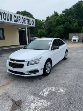 2015 Chevrolet Cruze for sale at Beach Cars in Fort Walton Beach FL
