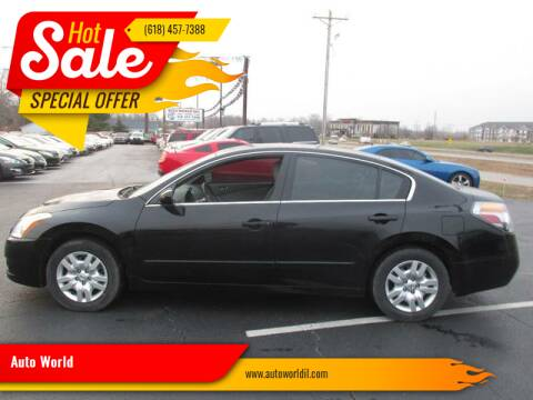 2012 Nissan Altima for sale at Auto World in Carbondale IL