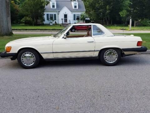 1985 Mercedes-Benz SL-Class for sale at Classic Car Deals in Cadillac MI