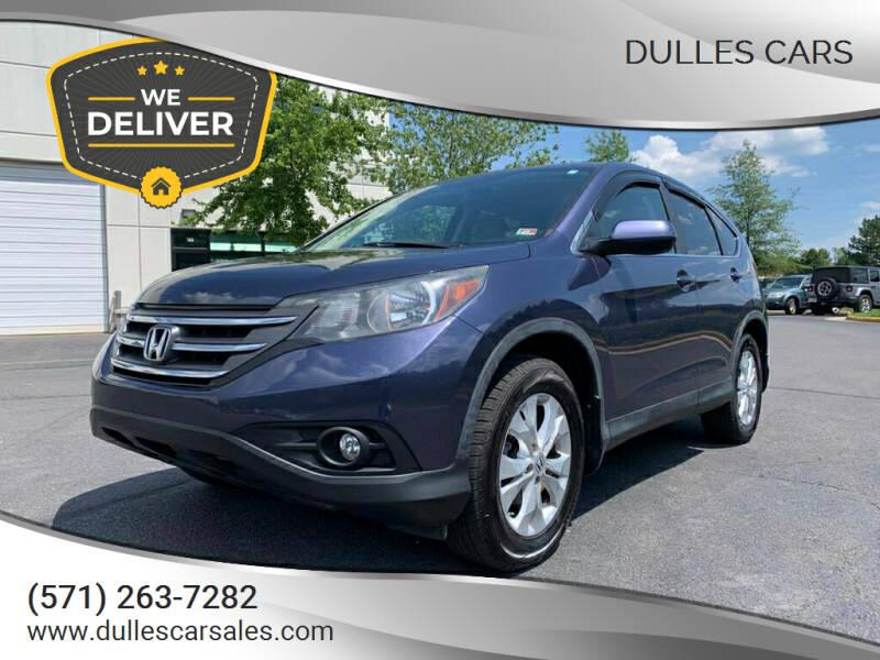 2012 Honda CR-V for sale at Dulles Cars in Sterling VA