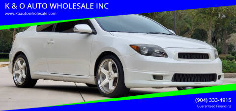 2007 Scion tC for sale at K & O AUTO WHOLESALE INC in Jacksonville FL