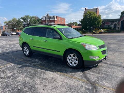 2012 Chevrolet Traverse for sale at DC Auto Sales Inc in Saint Louis MO