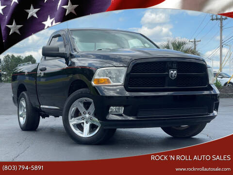 2012 RAM Ram Pickup 1500 for sale at Rock 'n Roll Auto Sales in West Columbia SC