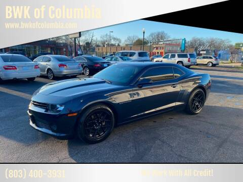 2015 Chevrolet Camaro for sale at BWK of Columbia in Columbia SC