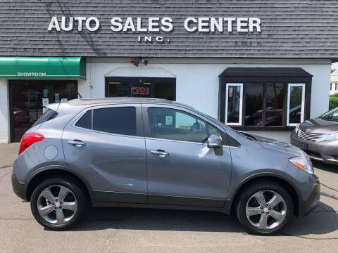 2014 Buick Encore for sale at Auto Sales Center Inc in Holyoke MA