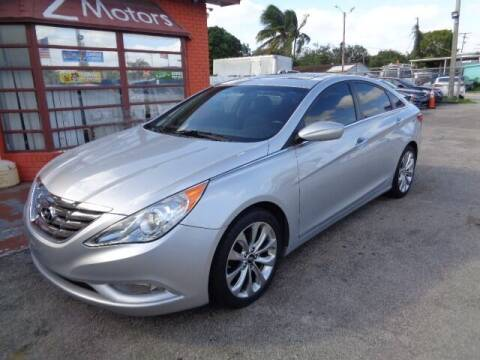 2013 Hyundai Sonata for sale at Z MOTORS INC in Hollywood FL