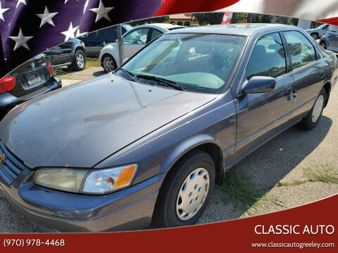 1997 Toyota Camry for sale at Classic Auto in Greeley CO