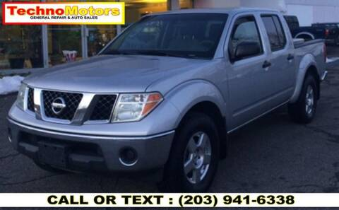 2008 Nissan Frontier for sale at Techno Motors in Danbury CT