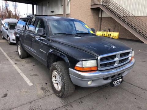 2002 Dodge Dakota for sale at Kansas Car Finder in Valley Falls KS