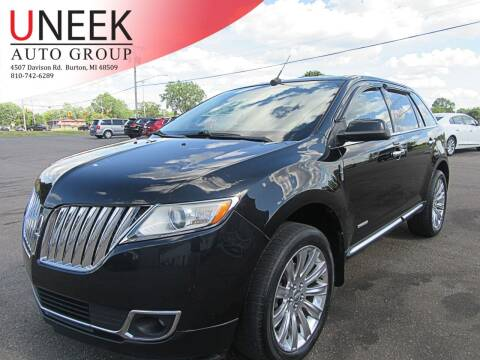 2011 Lincoln MKX for sale at Uneek Auto Group LLC in Burton MI