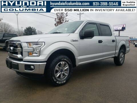 2017 Ford F-150 for sale at Hyundai of Columbia Con Alvaro in Columbia TN
