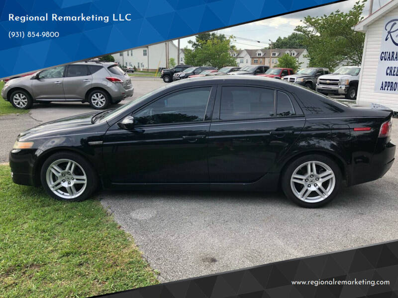 2008 Acura TL for sale at Regional Remarketing LLC in Cookeville TN