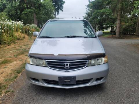 2002 Honda Odyssey for sale at Road Star Auto Sales in Puyallup WA